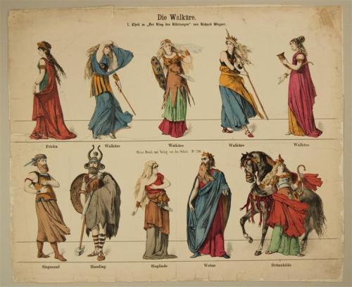 Die Walküre. 1. Theil zu Der Ring der Nibelungen von Richard Wagner. No. 298